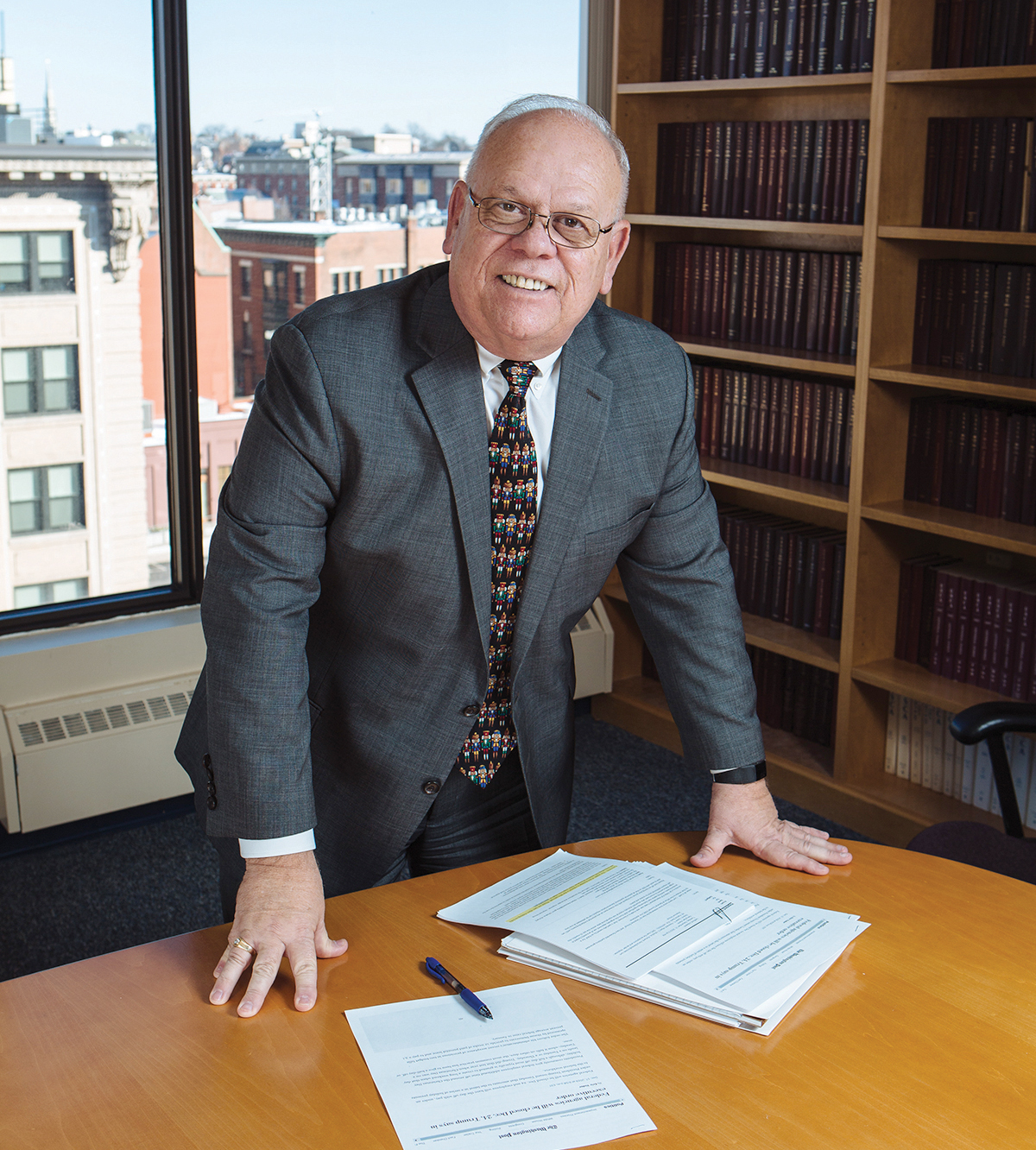 STEADFAST: Mark S. Hayward, director of the SBA's Rhode Island district office, says businesses that persevere will find the help they need to bounce back from the coronavirus crisis. / PBN FILE PHOTO/RUPERT WHITELEY
