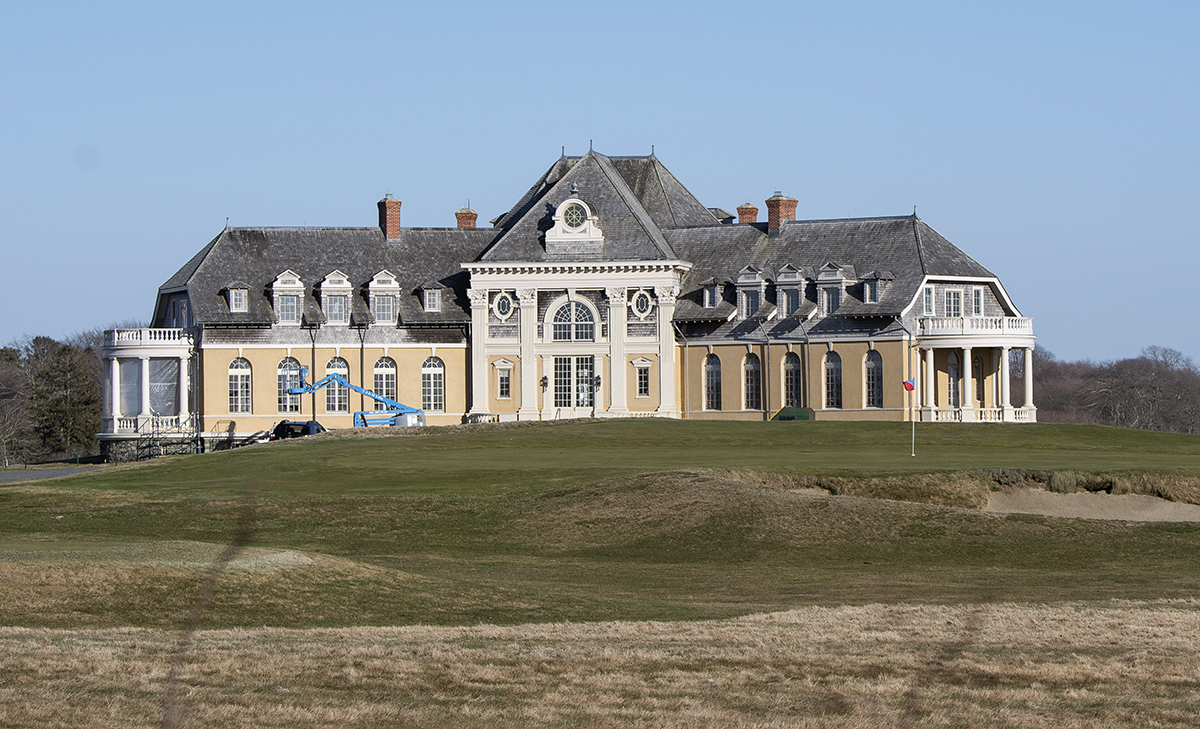 PRIME LOCATION: The Newport Country Club is scheduled to host the U.S. Senior Open golf championship from June 25-28. / PBN PHOTO/DAVE HANSEN