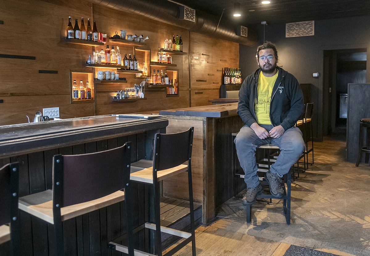 PLAYING IT SAFE: As hurt as his two Providence restaurants have been by the coronavirus panademic, James Mark says he won't open his restaurants for dine-in service until there's a vaccine, treatment or widespread testing. / PBN FILE PHOTO/MICHAEL SALERNO