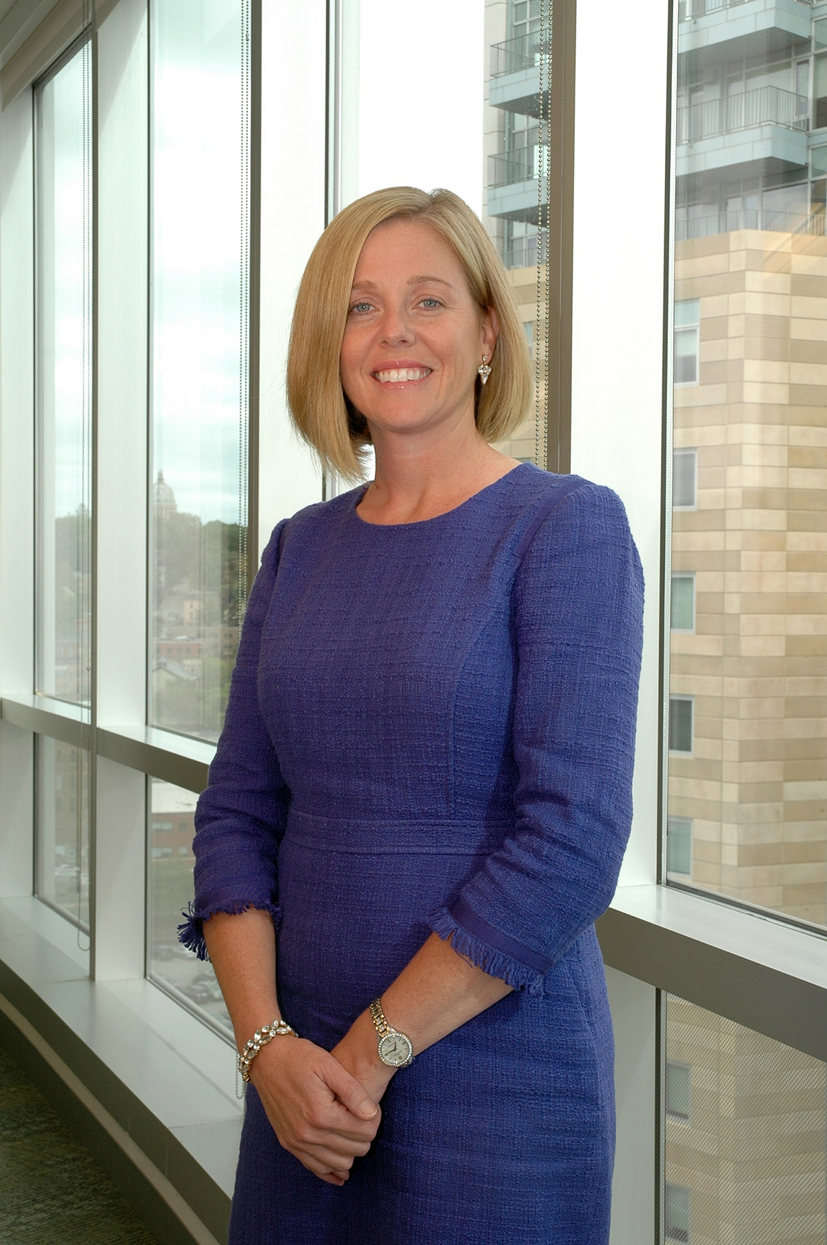DEAL-MAKER: Blue Cross & Blue Shield of Rhode Island Employer Segment Vice President Tara DeMoura led a team to bring in significant clientele, including the state and Lifespan Corp.  / COURTESY BLUE CROSS & BLUE SHIELD OF RHODE ISLAND